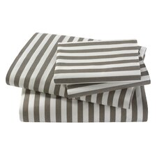 Ash Draper Stripe Sheet Set