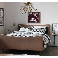 <strong>DwellStudio</strong> Painted Chevron Duvet Set