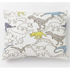 <strong>DwellStudio</strong> Dinosaurs Cotton Sham