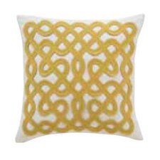 Labyrinth Linen Decorative Pillow