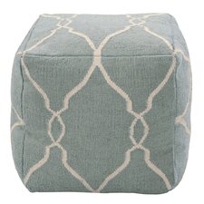 Marrakech Slate Blue Pouf