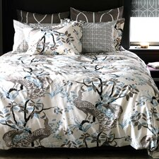 Peacock Dove Duvet Cover