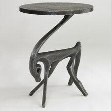 Gazelle Side Table in Black Iron