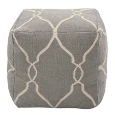 Marrakech Grey Pouf