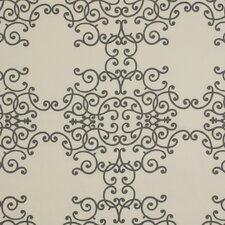 Soft Scrolls Fabric - Charcoal