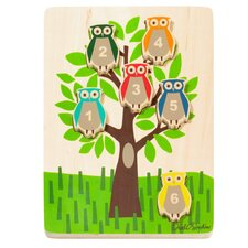 Owls Wooden Puzzle - SOLD OUT
