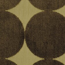 Plush Dotscape Fabric - Major Brown
