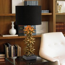 Urchin Lamp in Gold and Black