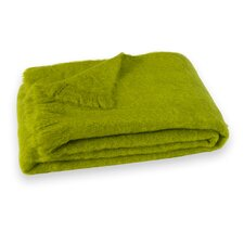 Brushed Mohair Throw