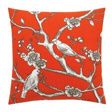 <strong>DwellStudio</strong> Vintage Blossom Persimmon Pillow
