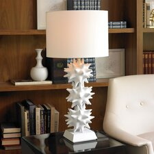 Urchin Lamp in White