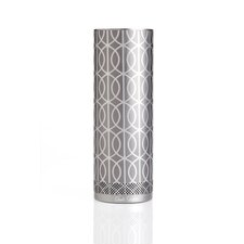 DwellStudio for Stellé Audio Bluetooth Speaker in Pewter and Silver