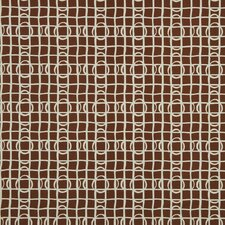 Lattice Graph Fabric - Copper