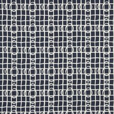 Lattice Graph Fabric - Ultramarine