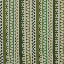Nordic Stripe Fabric - Lime