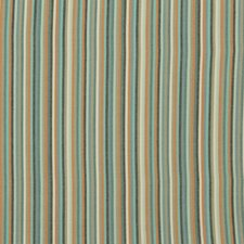 Striped Affair Fabric - Turquoise