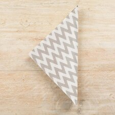 Chevron Platinum Napkin (Set of 4)