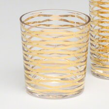 Ribbons Drinking Glass