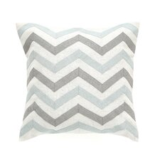 Zig Zag Mist Pillow Cover