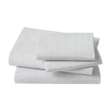 Crosshatch Dusk Sheet Set