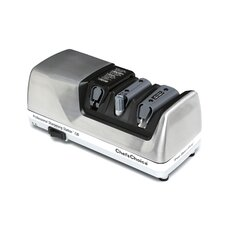 <strong>Chef's Choice</strong> Professional Sharpening Station Electric Knife Sharpener in Brushed Metal