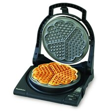 "<strong>Chef's Choice</strong> International WafflePro Taste / Texture Select Traditional ""Five-of-Hearts"""