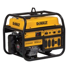 DeWalt 4500 Watts Commercial Gas Generator with Honda GX270 Recoil Start