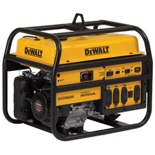 DeWalt 6000 Watts Commercial Generator with Honda GX340 Recoil Start