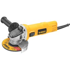 "<strong>DeWalt</strong> 4.5"" 7 Amp Angle Grinder with One Touch Guard"