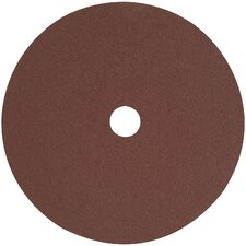 "4.5"" 36 Grit High Performance Aluminum Oxide Fiber"