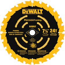 "7.25"" 24 Tooth Saw Blade"
