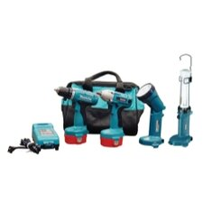 <strong>Makita</strong> 14.4 V Auto Combo Kit