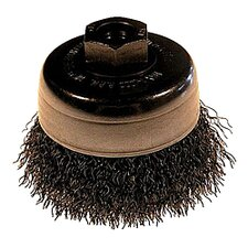 Cup Crimped Wire Brush