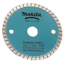 "Cordless Circular Saw Blades - 3-3/8"" masonry diamond wheel"