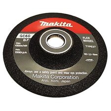 "Flex Grinding Wheels - 4"" flex wheel 46grit 9501bkw"