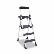 World's Greatest 3-Step Folding Step Stool