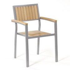 <strong>Cosco Home and Office</strong> Stacking Arm Chair (Set of 2)