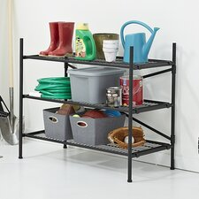 3 Shelf Folding Instant Storage Unit