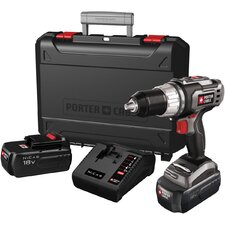 <strong>Porter Cable</strong> 18 Volt Drill Driver Kit  PC180DK-2