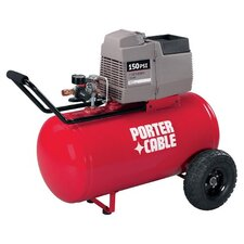 150 PSI 20 Gallon Oil-Free Horizontal Portable Air Compressor