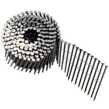 "Round Head Framing Nails - nail coil 120 plain 2-1/2"" dp. 2700 per box"