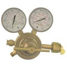 SR 350 Single Stage Heavy/Medium Duty Regulators - csr360a-510 reg.w/color gauges