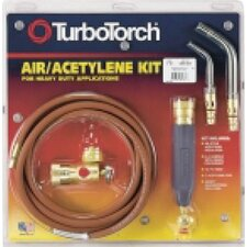 X-4B TurboTorch Air Acetylene Torch A/C And Refrigeration Kit With Size 5 And 14 Tips