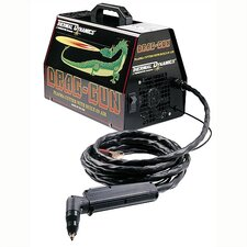 Drag-Gun 120V Plasma Cutting System Welder 22A with PCH-10 70° Torch and 20 Foot Leads
