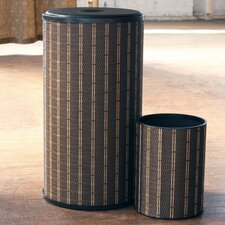 Barton Hamper with Wastebasket Set