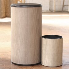 Caprina Hamper with Wastebasket Set