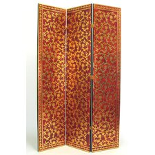 "<strong>Wayborn</strong> 72"" x 48"" Vine 3 Panel Room Divider"
