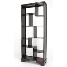 "10 Compartment Geometric 78"" Bookcase"