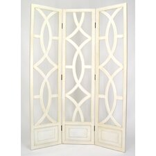 "<strong>Wayborn</strong> 76"" x 54"" Charleston 3 Panel Room Divider"