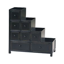 Suchow Reversible 8 Drawer Step Chest